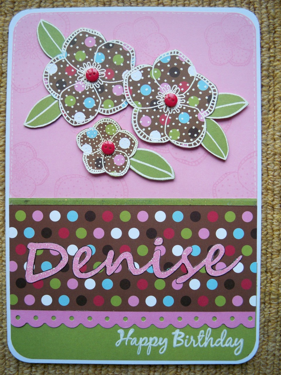 Fabriquer carte anniversaire 06 photo de carte fait main - Carte anniversaire fait main ...