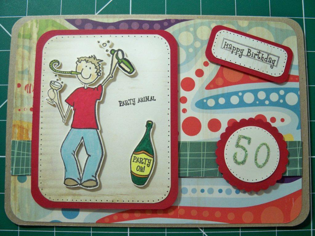 fabriquer carte anniversaire 46