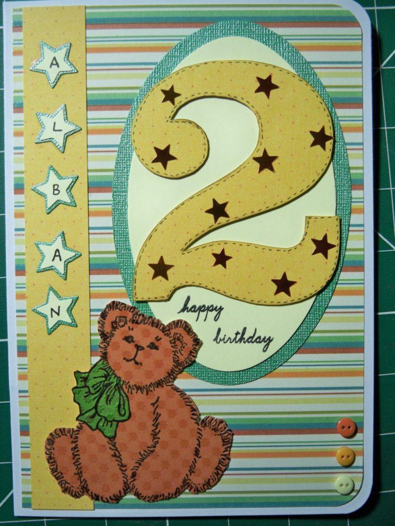 fabriquer carte anniversaire 58