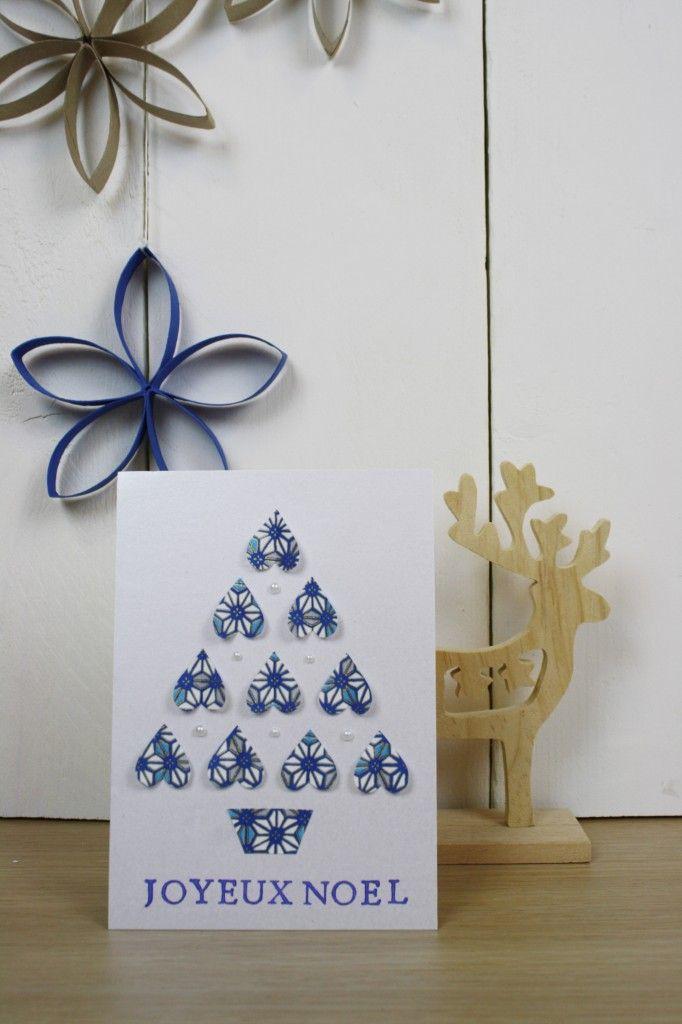 Faire Soi Même La Carte De Noel 12 Photo De Carte Fait Main