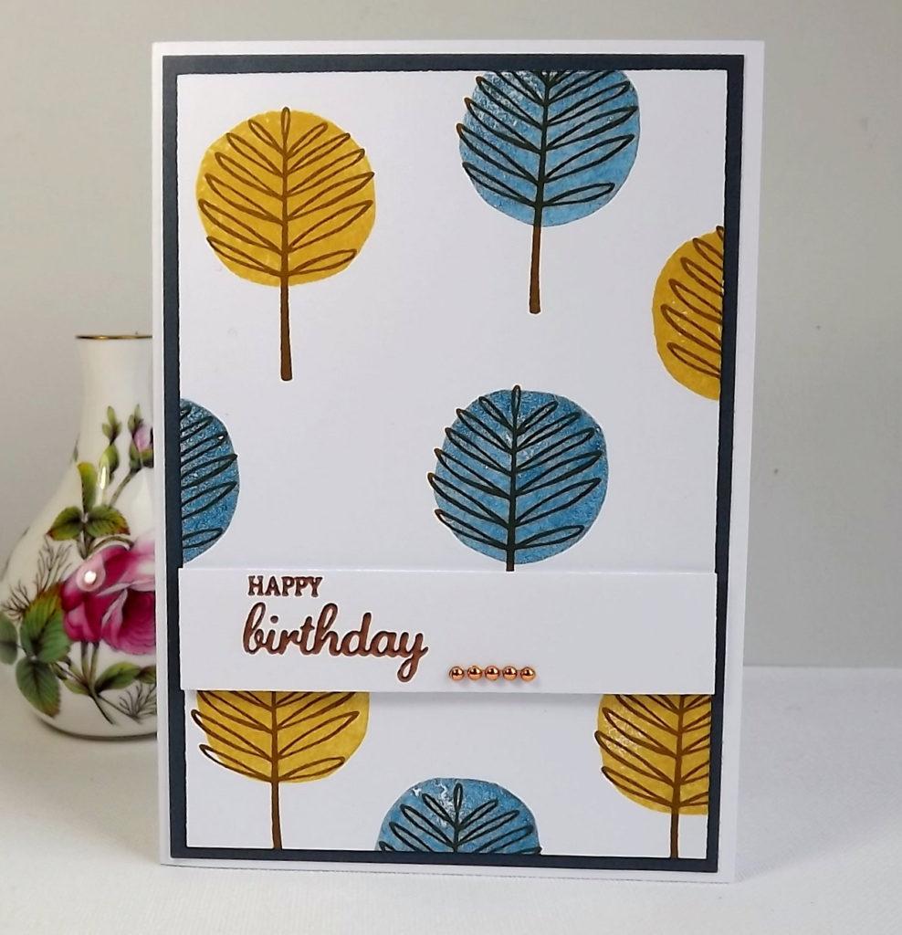 Bricolage facile à faire soi-même pour une carte d'anniversaire idée 20