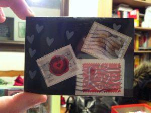 belle idée de carte fait main et fait maison par Allie 09