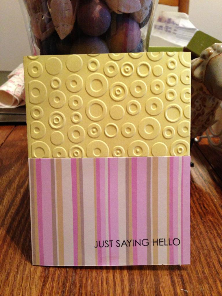 belle idée de carte fait main et fait maison par Allie 37