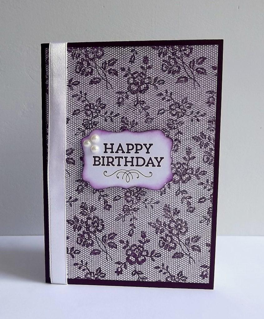 carte d anniversaire faite maison par maudie num ro 17 photo de carte fait main. Black Bedroom Furniture Sets. Home Design Ideas