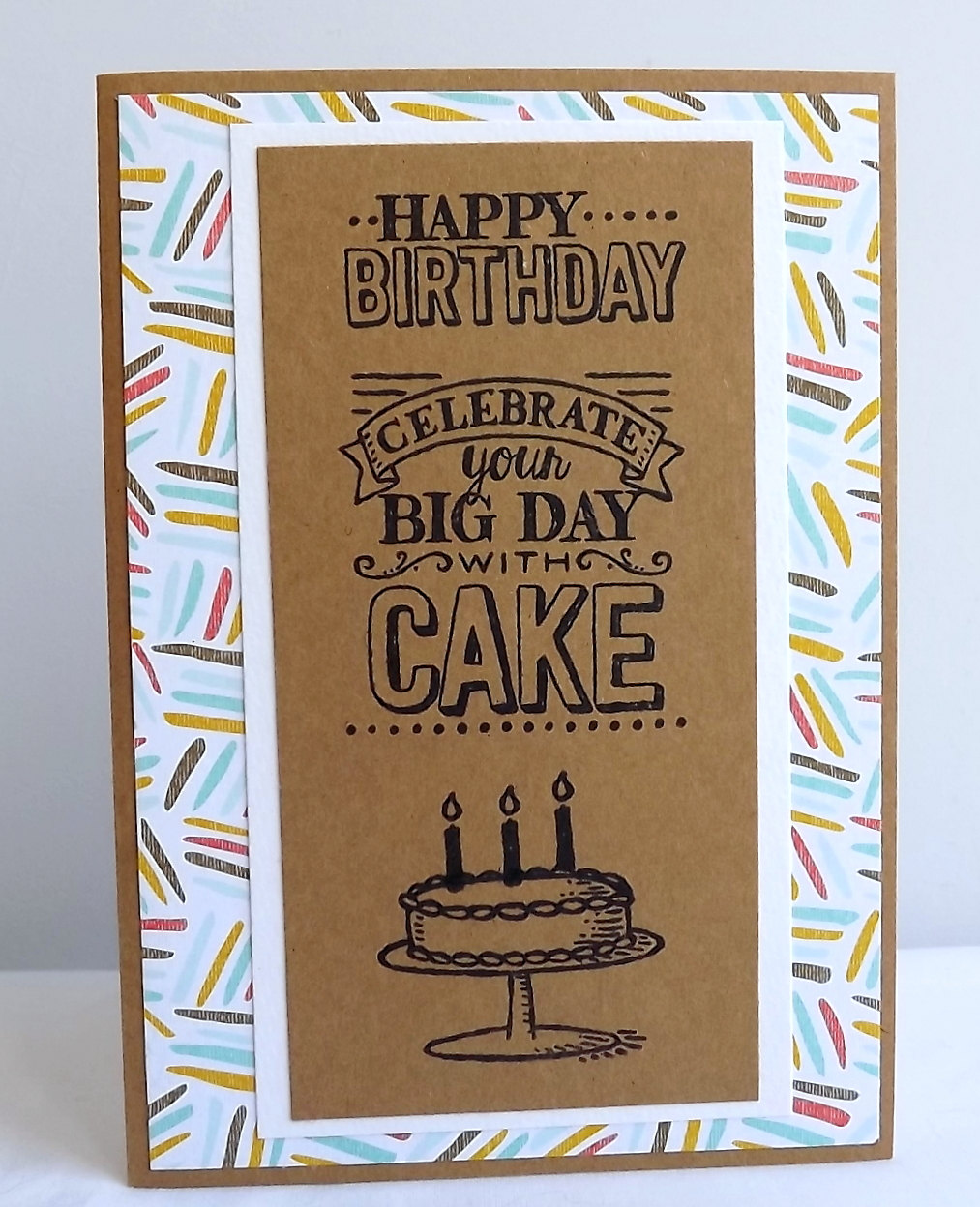 carte réalisée par Maudie pour un anniversaire numéro 05