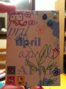 carte spéciale anniversaire par Allie idée 10