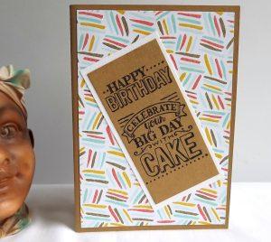 idée 03 pour une carte d'anniversaire fait soi même à la maison