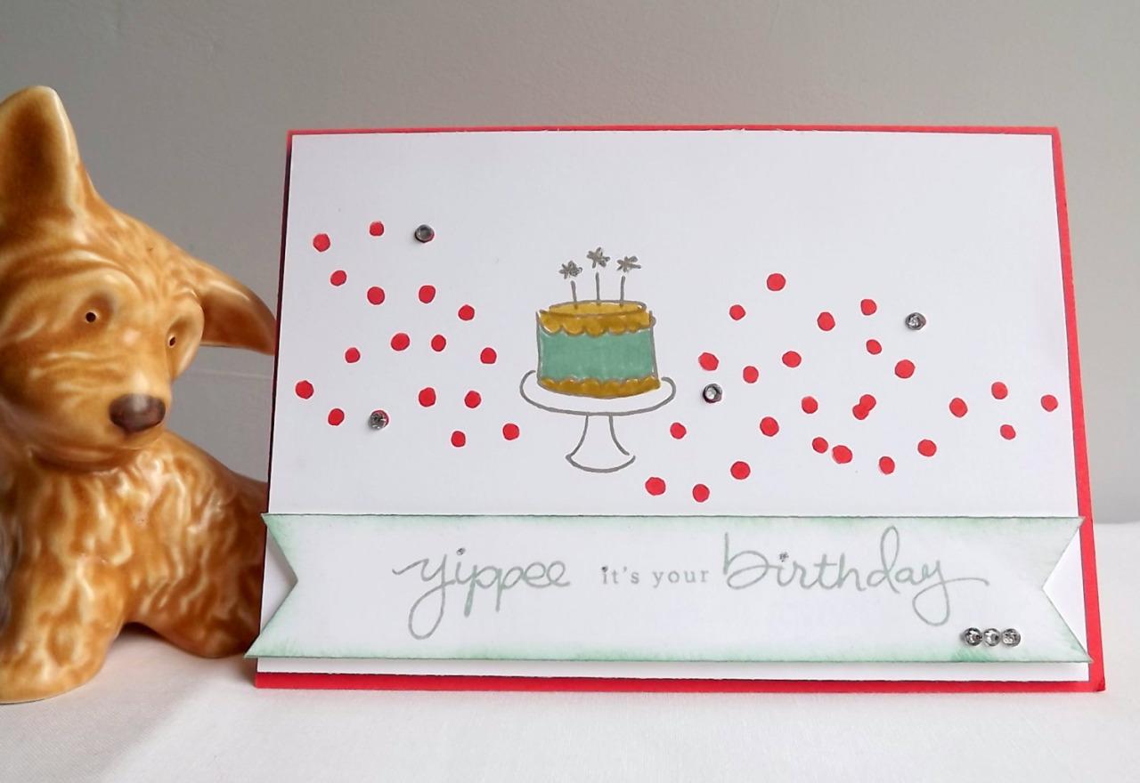 idée 10 pour une carte d'anniversaire fait soi même à la maison