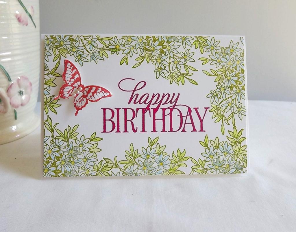 idée 26 pour une carte d'anniversaire fait soi même à la maison