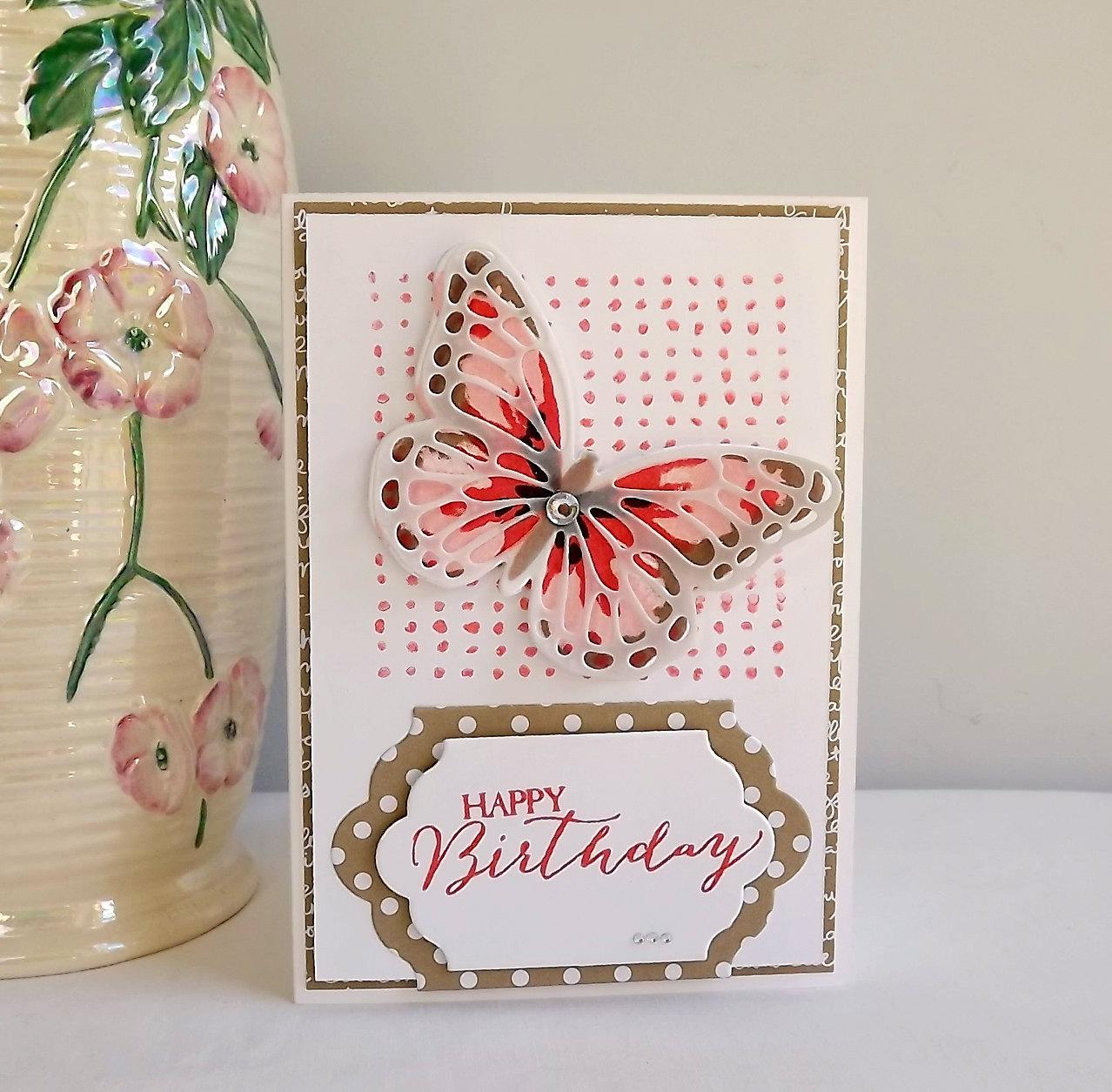Id e 28 pour une carte d anniversaire fait soi m me la mai photo de carte fait main - Carte anniversaire a faire soi meme ...