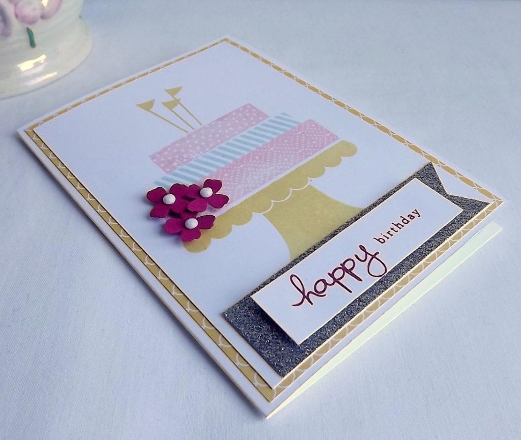 id e 31 pour une carte d anniversaire fait soi m me la mai photo de carte fait main. Black Bedroom Furniture Sets. Home Design Ideas