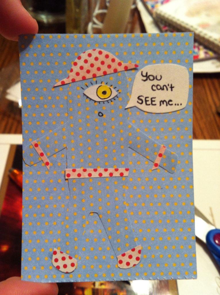 travail du papier pour idée carte fait maison par Allie 14