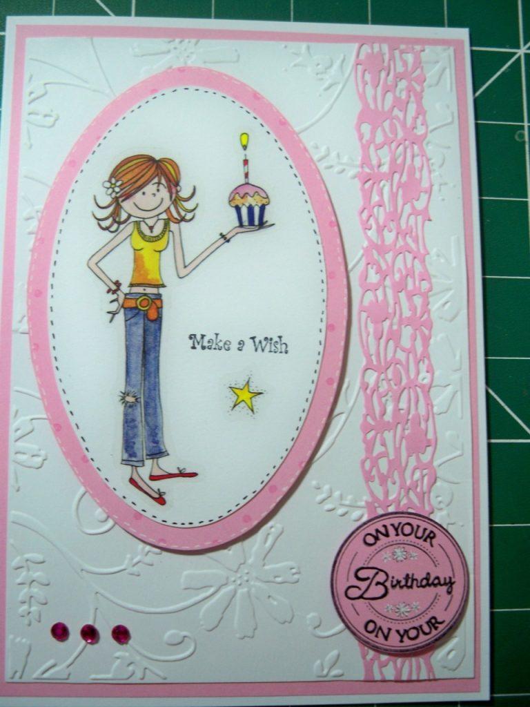 carte anniversaire à fabriquer soi-même