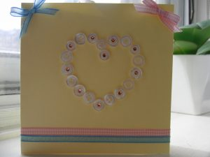 carte anniversaire femme diy