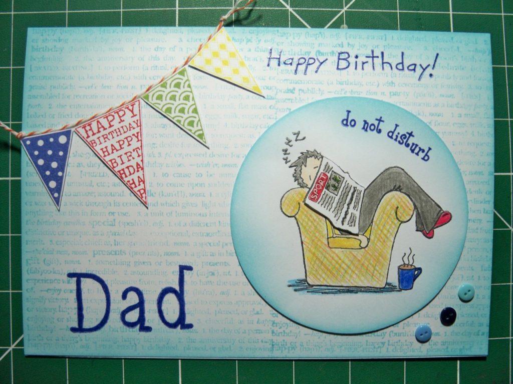 carte anniversaire homme