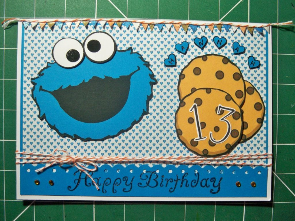 carte d'anniversaire facile a fabriquer