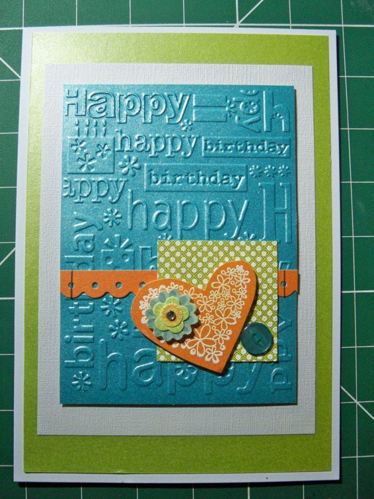 diy carte anniversaire adulte