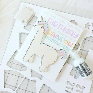 faire une jolie carte d'anniversaire